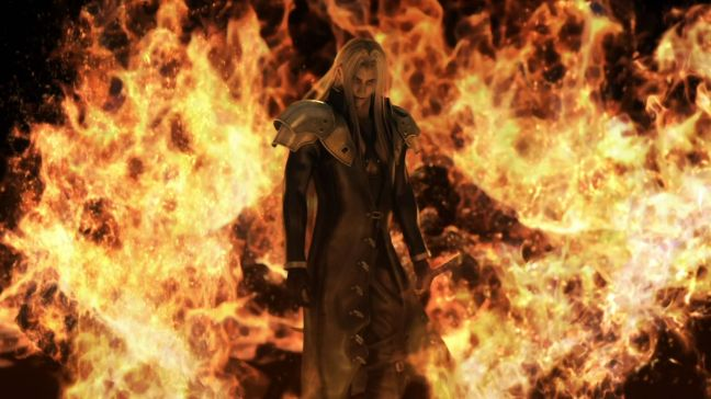 No, Sephiroth, I was just making a point. I still love you, come back.