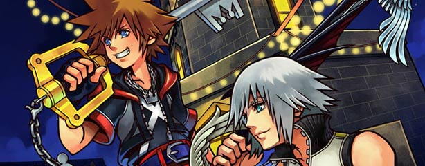 The only game where Sora and Riku aren't fighting or moping!